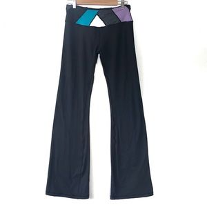 lululemon Groove Pants Black Blue/Purple Size 6